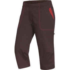 Ocun Jaws 3/4 Pants Men chocolate